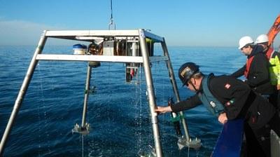 Messgerüst offshore 16-9