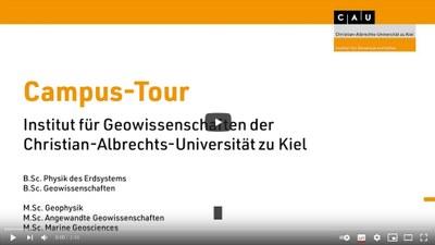 Bild Campustour deutsch